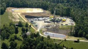 Fracking pad